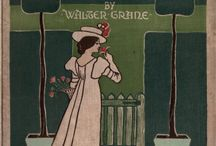 Walter Crane - A floral fantasy in an old English garden : set forth in verses & coloured designs (1899)