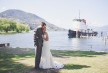 Nearby Wedding Photo Locations / Wedding Photography Locations and Sites in Penticton - Includes Snapshots from the beach, park and Penticton Rose Garden - all are beautiful locations just steps away from the SS Sicamous - Perfect for your wedding ceremony, engagement photos or group and couple shots.