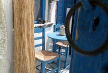 Santorini- Emporio / Beautiful village on Santorini island.