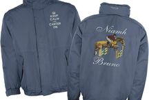 Equestrian by Whittakers Embroidery / Samples of our work for the equestrian market