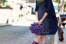 Ebru Maternity Dress - Hamile Elbisesi / 2014-15 Winter Season Maternity Dress