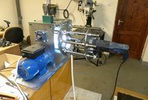 Mágneses fúróállvány / Saját tervezésű mágneses fúrógépállvány építése, képekben.