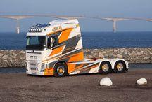 Trucker - MOBILNÍ GALERIE III. - Airbrush