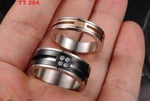 Cincin Tunangan Titanium