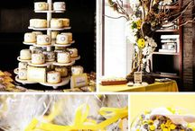 Yellow and Grey baby shower!!