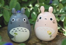 Studio Ghibli Cake / by Fancy Fondant Cakes by Emily Lindley