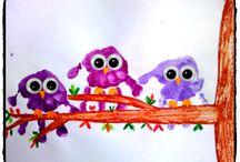 peinture enfant la main