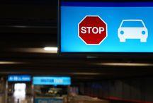 Señalización - Parkings / Elementos de interior y exterior para señalizar parkings