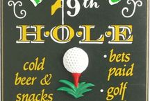 Golf Signs / by HomeTheater Gear