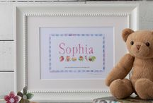 Childrens 'Name Frame' Gifts / Unique Personalised 'Name Frame' Prints by Goalhangers. Ideal gift for children at christmas, available from www.notonthehighstreet.com #NameFrames #childrensGifts