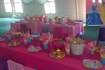 Princess parties decor