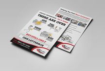 Leaflet Design / A selection of leaflet designs we have created to be used with our leaflet distribution services