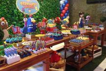 Festas / Festas infantis, adultos, DIY - do it yourserlf, PAP - passo a passo, organização e dicas.