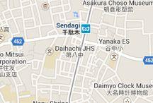 Bottazzi - Itsutsuji Gallery Tokyo Map