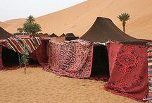 Beduin telt/overdækning