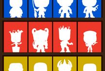 Layouts / Different layouts are available for displaying your vinyl figures
