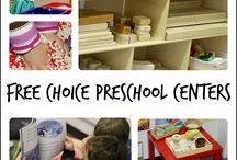 Open-Ended Preschool Centres to Guide Learning