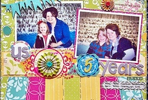 Elisha Pharr 2012 Scrapbook Projects