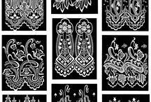 Inspiration: Intricate patterns in lace