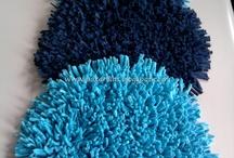 almohadones y alfombras
