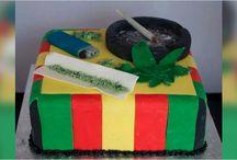 His bday cake