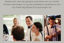 Bryllupsplanlegging - tips og råd