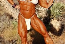 Sexy Female bodybuilders / Hot sexy Female bodybuilders that has giant clitoris