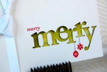 Christmas card ideas / by Allison
