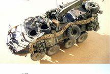 kolová armádní vozidla