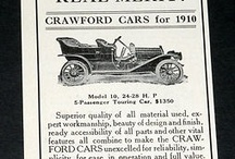 Crawford and Dagmar Car Ads / The Crawford Automobile was a highly regarded small-production car made in Hagerstown, Maryland throughout the 1910s and early 1920s. The company also made a sporting version of the Crawford, called the Dagmar, starting in 1922. The last Crawfords were sold in 1923, but the Dagmar continued until 1927.