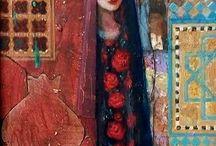 Painting Arabic