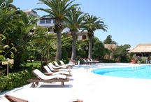 Where You Love to Relax and Swim / a collection of pictures from our swimming pool and garden, where our guests love to stay and relax. Hotel Balocco, Porto Cervo