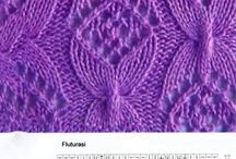 knitting romanian pattern