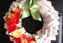 Wreaths / Lovely DIY wreath ideas