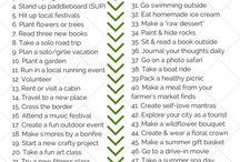 Healthy Things to Do