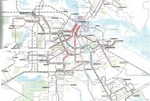 Transit Maps / Transit maps from around the world, as featured on my blog, transitmap.net
