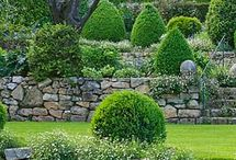 Retaining walls / I like these retaining walls