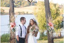 Bruiloft ' buiten