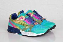 Lesir shoes / J'aime les  POMP  or game