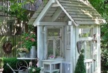 garden sheds/garden