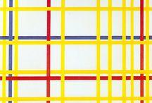 Piet Mondrian Kunst