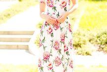 Run For Roses Maxi Dress