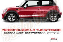 Adesivi Stickers Decals Strisce Laterali per Auto Car / Adesivi in vinile prespaziato per tutti i gusti! Prezzi a partire da 2 euro! Qualità e precisione senza paragoni! www.adesivituning.eu