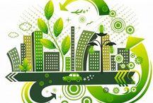 Ecologic City / Ciudades Sostenibles. Propuesta para Tuna Real en Suba, Bogotá.- **Planta de Tratamiento de Aguas Residuales (PTAR) **Planta de Tratamiento de Agua Potable (PTAP) **Generación Eólica **Generación Fotovoltaica **Calentamiento de Agua con energía solar **Clasificación de Basuras **Reciclaje de Basuras **Producción de Energía con basuras **Producción de abonos con basuras y aguas negras **Neveras ecológicas **Fachadas verdes **Techos agrícolas **Corte de césped con ovejas o cabras / by Miguel Centanaro