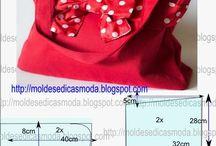 ropa y moldes para costura