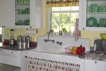 The Vintage Kitchen / Because I was too lazy to pin all these things into their own categories, and because I thought they looked better all together, I pinned everything I love about kitschy kitchens into one board.  Enjoy!  :) / by Vicki Baker