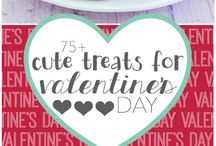 Valentine's Day Sweet Treats / Special sweet treats for Valentine's Day celebrations.