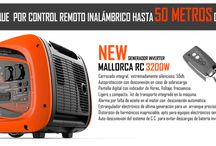 Generadores Control Remoto / Generadores eléctricos Genergy con control remoto en versión gasolina e inverter.