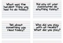 Idea for end of day diary