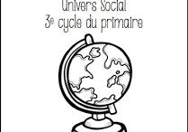 Enseignement univers social